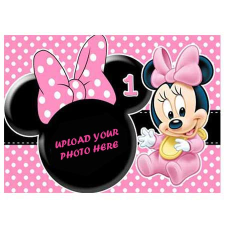 Awesome Order 1St Birthday Minnie Mouse Eggless Cake Kanpur Gifts Funny Birthday Cards Online Elaedamsfinfo