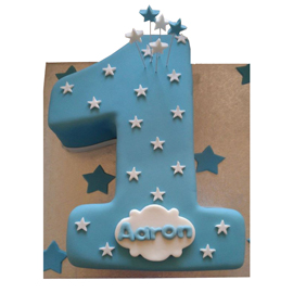 2 kg 1st birthday boy cake midnight delivery in kanpur @ best cake shop