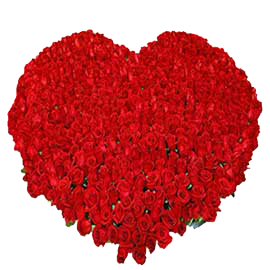 buy 250 roses heart basket same day delivery in kanpur