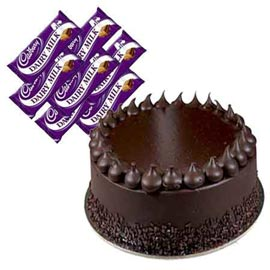Buy online cadbury chocolates n chocolate cake in kanpur