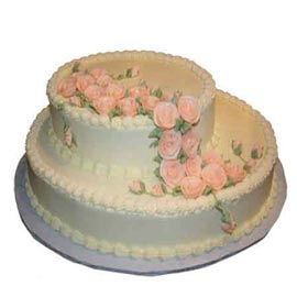Send delivery of 2.5 kg two tiers celebrations cake @ kanpurgifts.com
