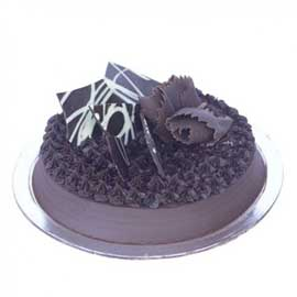 Send Online Half Kg Chocolate Brownie Cake Delivery In Kanpur