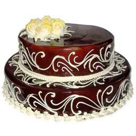 Send online 2.5 kg chocolate celebration cake delivery in kanpur