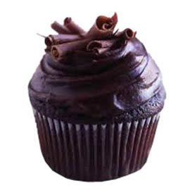 Send online dark chocolate cup cake delivery in kanpur
