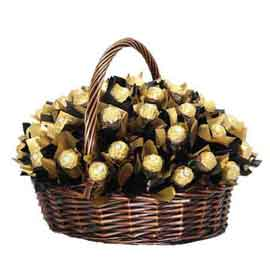 midnight online ferrero rocher gift hamper delivery in kanpur