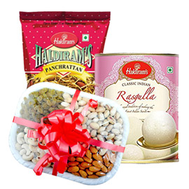same day online father day gift namkin, sweet & dry fruits in kanpur