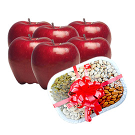 same day online mother day gift fruit & dry fruit in kanpur