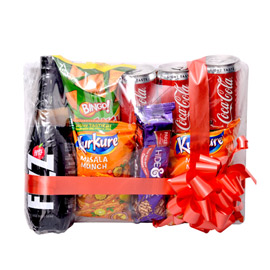 same day online raksha bandhan gift apple & juice in kanpur