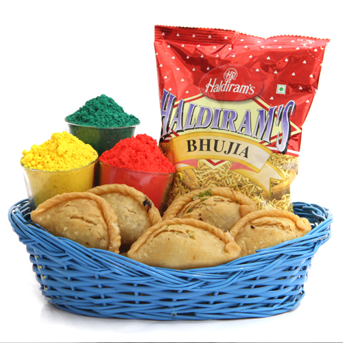 Buy online holi gift combo delivery kanpur
