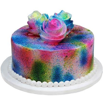 Send online Holi Special Cake delivery in kanpur