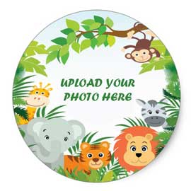 online delivery of jungle safari photo cake delivery in kanpur
