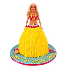 Send online jungle barbie cake delivery in kanpur