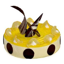 1 kg lemon cheese midnight cake delivery in kanpur @ best cake shop