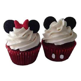 Buy online micky mini cup cakes delivery in kanpur