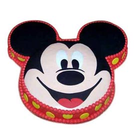 Midnight online mickey vanilla cake delivery in Kanpur @ cake shop