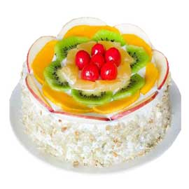 xpress delivery of fresh fruit cake delivery in kanpur