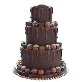Send online 4 kg special chocolate party cake delivery in kanpur