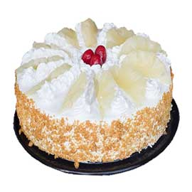 spl pineapple round shape cake midnight cake delivery kanpur