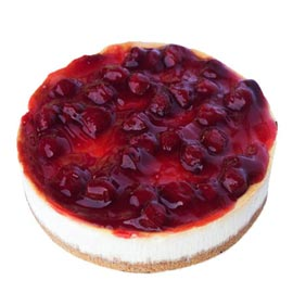 24 hrs online strawberry cheese cake delivery in Kanpur