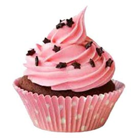 Buy online twinkle star cup cake delivery in kanpur