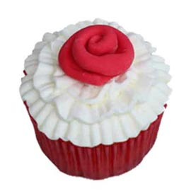 Urgent online valentine rose cup cakes delivery in kanpur