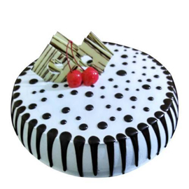 Send Half kg black forest Delight cake from kanpurgifts.com - local bakery