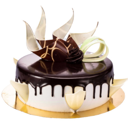 Send Half kg black forest special cake from kanpurgifts.com - local bakery