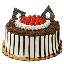 buy online blackforest yum heart cake delivery in kanpur
