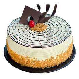 half kg special butter scotch cake midnight delivery in Kanpur