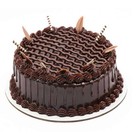 half kg choco belgium cake delivery in Kanpur