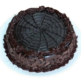 24 hrs delivery of half kg chocolate flex cake delivery in kanpur