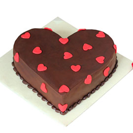 24 hrs online choco love cake delivery in Kanpur