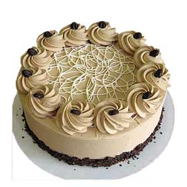 Send online choco mocha chocolate cake delivery in kanpur