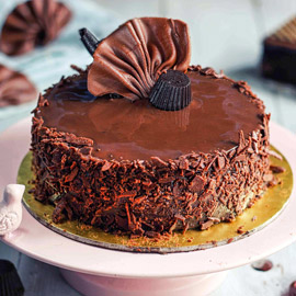 Chocolate Silk Cake kanpur