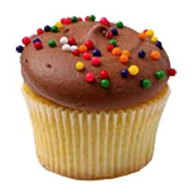 Gift online chocolate vanilla cup cake delivery in kanpur