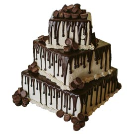 Send online 4 kg chocolate vanilla cake delivery in kanpur
