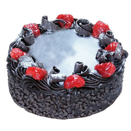 24 hrs delivery of half kg chocolate chips cake delivery in kanpur