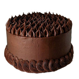 Sober Chocolaty Wishes Cake Kanpur