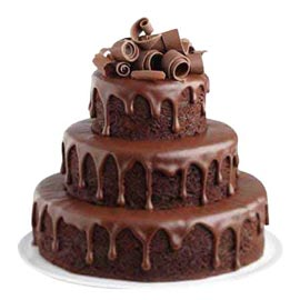 Send Delivery Of 35 Kg Chocolate Fountain Cake Kanpurgifts