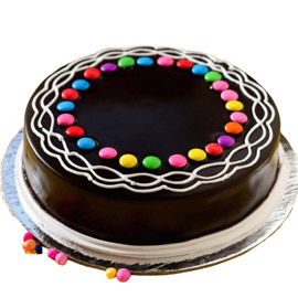 Chocolate Gems Cake kanpur