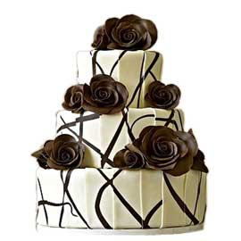 Send online chocolate party cake delivery in kanpur