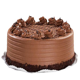 24 hrs delivery of half kg chocolate praline cake delivery in kanpur