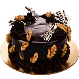 Send online half kg chocolate walnut delivery in kanpur