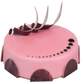 Send online classic Strawberry cake delivery in kanpur