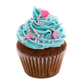 Send online cup cake for him delivery in kanpur
