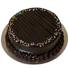 24 hrs delivery of half kg dark truffle cake delivery in kanpur