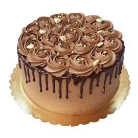 Chocolate Rose Cake kanpur