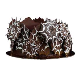 Send online designer spl chocolate cake delivery in kanpur