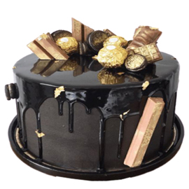 Elite Rocher Cake midnight cake delivery kanpur