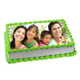 online delivery of family photo cake delivery in kanpur